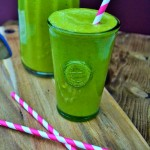 spinach and mango smoothies